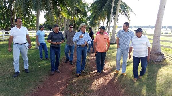 Pecuaristas de Oriximiná (PA) em visita à Fazenda Marupiara, em Paragominas (PA) Crédito da foto: Divulgação / MRN